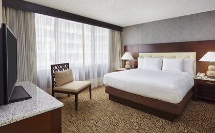 bedroom.jpg | Presidential Suite Balcony - 1 King Bed + One Bedroom Balcony Suite | DoubleTree by Hilton Hotel Washington DC - Crystal City