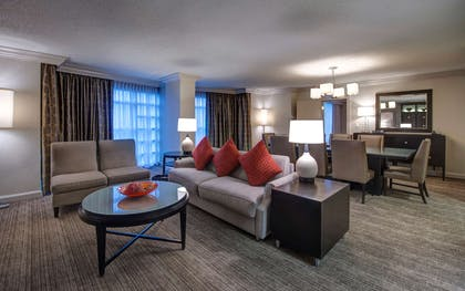 Living area | Town Center Suite + King | Hyatt Regency Reston