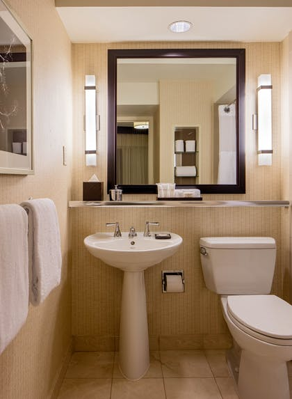 Bathroom | Executive Suite + King Room | Hyatt Regency Washington on Capitol Hill