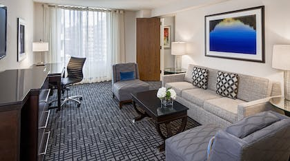 Living area | Executive Suite | Hyatt Regency Washington on Capitol Hill