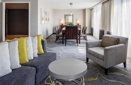 Dining area | Presidential Suite + Double room | Hyatt Regency Washington on Capitol Hill