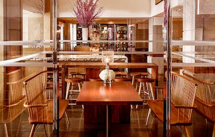 Lounge Glass Booth | Park Hyatt Washington
