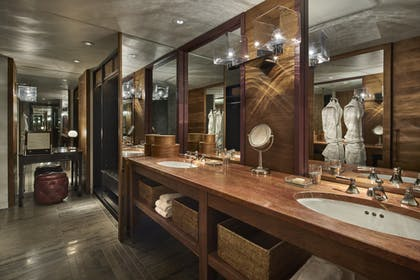 Bathroom Vanity | Ambassador Suite + Park Deluxe King | Park Hyatt Washington