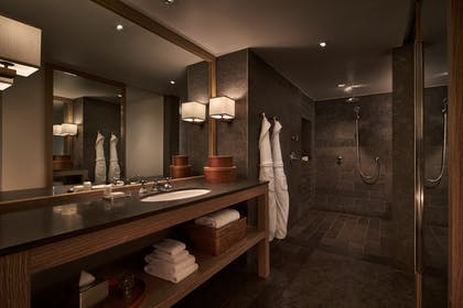 Bathroom | Georgetown Suite + Park Deluxe King | Park Hyatt Washington