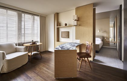 Bedroom office area | Georgetown Suite + Park Deluxe King | Park Hyatt Washington