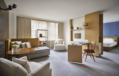 Livingroom | Park Junior Suite + Park Deluxe Double | Park Hyatt Washington