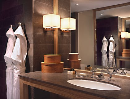 Bathroom vanity | Park Junior Suite + Park Junior Suite | Park Hyatt Washington