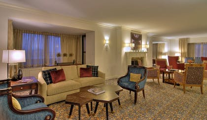 image3.jpg | 1 King Bed 1 Bedroom Presidential Suite with Balcony | The Capital Hilton