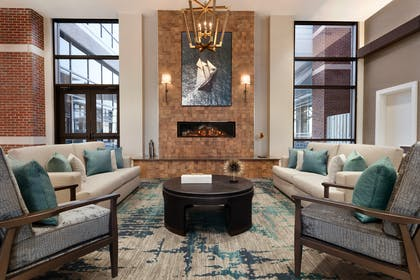 Atrium Lobby | Embassy Suites by Hilton Wilmington Riverfront